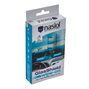 Glassshield wipeon